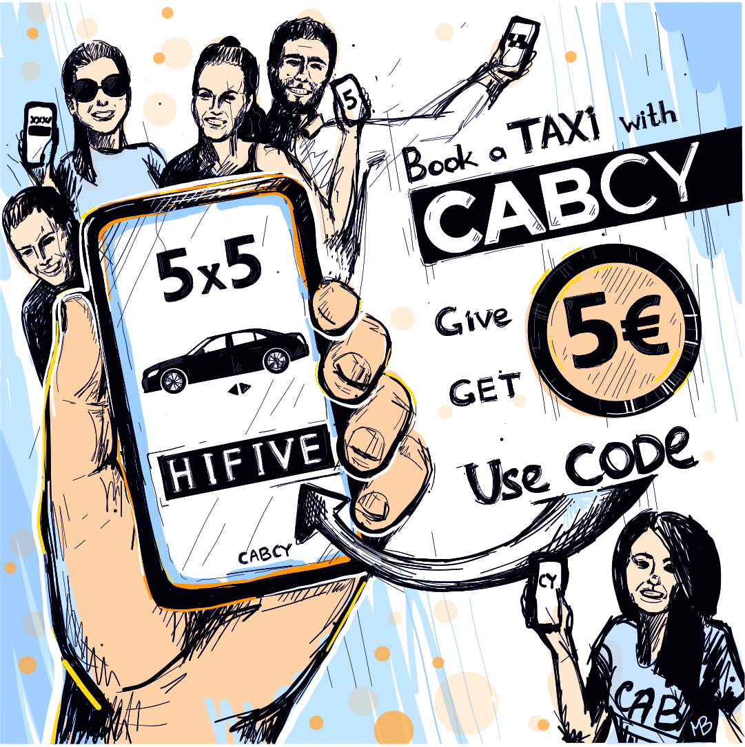 Refer friends to ride with CABCY