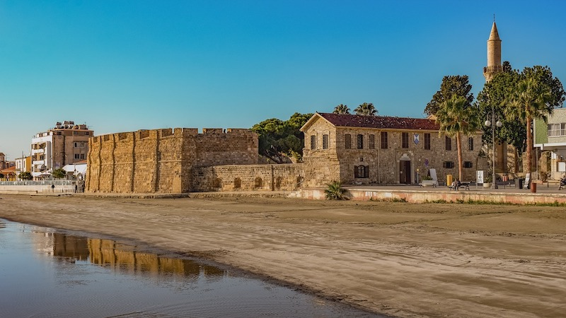 Larnaka Castle in Larnaca